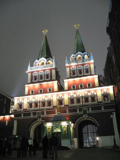 冬のモスクワ(Moscow)