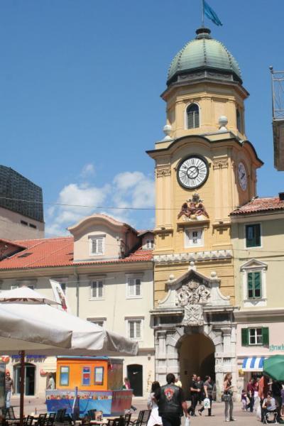 クロアチアの旅ー13 クロアチアの湾港都市「リエカ」