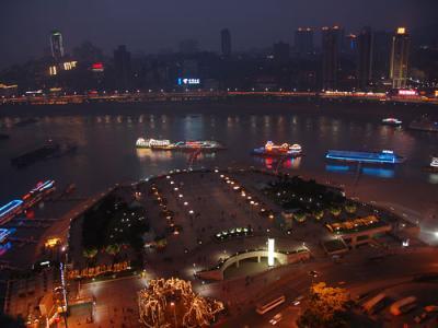 長江春酣【005】重慶は世界グローバル都市ランク65位に入る大都市