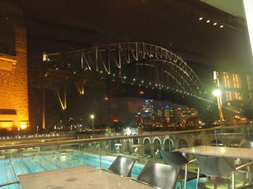 真夏のオーストラリアの奇跡の旅!!=3=夜景のステキなレストラン