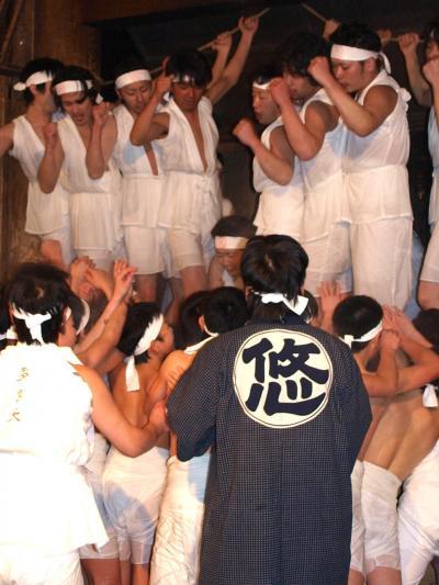 日本三大奇祭「越後浦佐毘沙門堂裸押合大祭」 の たび<新潟県南魚沼市>
