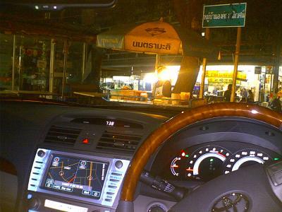 バンコク → チョンブリ 高速道路で悪徳警官に捕まる 編