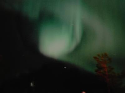 北欧サーリセルカのオーロラ