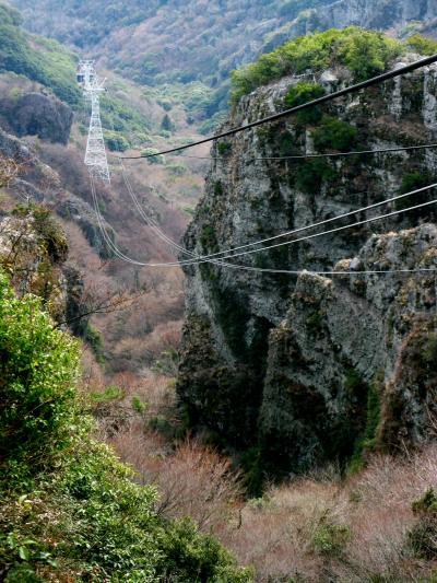 瀬戸内海-4 小豆島*寒霞渓をロープウェイで ☆奇岩の渓谷美と眺望を