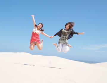 真夏のオーストラリアの奇跡の旅!!=5=大砂丘でサンドボード