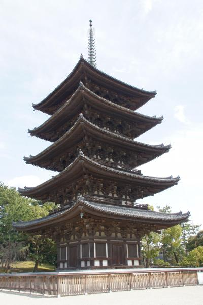 13.  奈良公園プラプラと、最後は興福寺と猿沢池です。