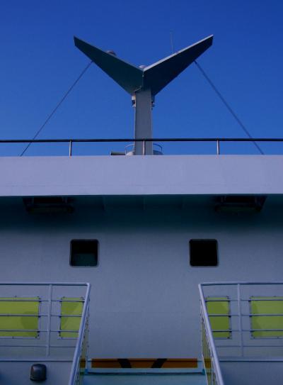 瀬戸内海-7 小豆島*草壁港~高松港 快適な船旅 ☆愛媛路まで高速で直行