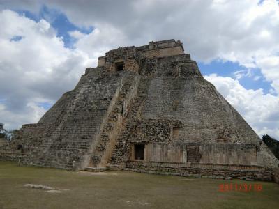 メキシコ遺跡巡り一人旅⑥ウシュマル遺跡