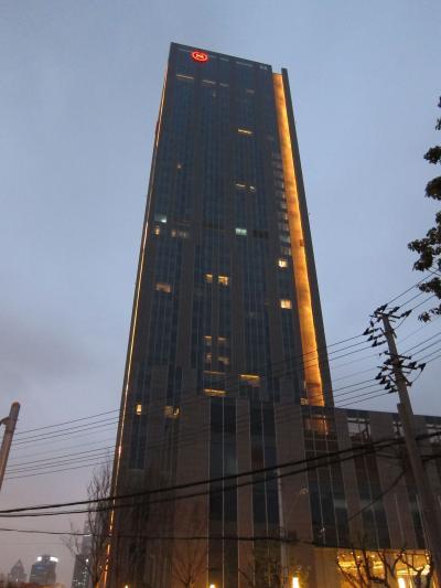 上海 シェラトン上海虹口ホテル (上海虹口喜来登酒店 Sheraton Shanghai Hongkou Hotel) に宿泊してみました。