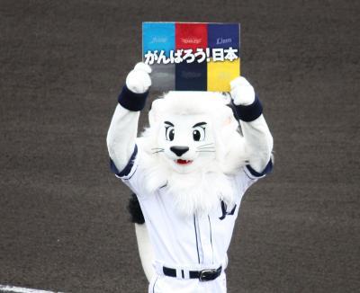 東日本大震災復興支援試合  西武ライオンズ vs ソフトバンクホークス