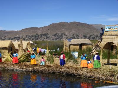 """ペルー旅行記③インカエクスプレスで標高4335mを経験~標高3600m・空よりも青い""""チチカカ湖"""""""