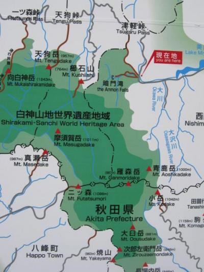 白神山地と十和田・奥入瀬・八甲田
