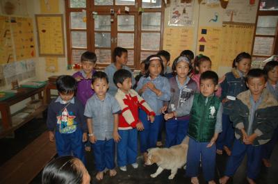 亡命チベット人の学校を尋ねて(1) 2010.9