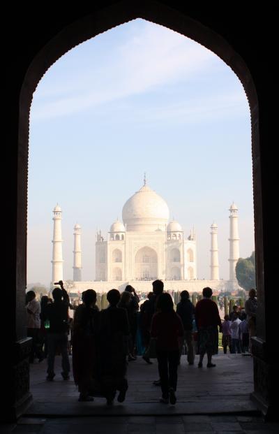 北インド紀行(4) シャー・ジャハーンの愛の結晶タージ・マハル