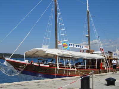 クロアチア縦断 ドライブ旅行記 6日目 ポレチュ編④アドリア海クルーズへ