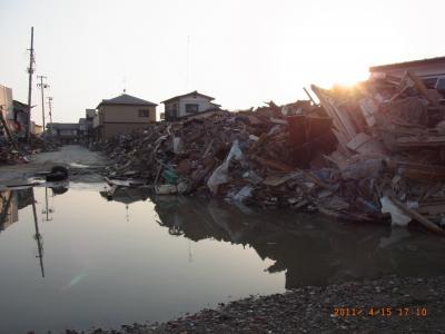 東日本大震災から一ヶ月 その2石巻編