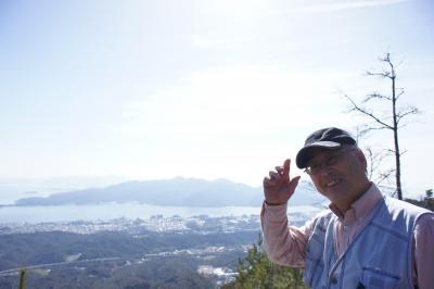 山頂から宮島を見てみよう