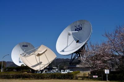 山口、仁保KDDI山口衛星通信センターを訪ねて・・・