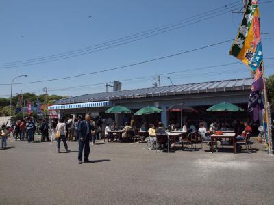 横浜の柴漁港内、直売所の隣に、江戸前穴子が味わえる食堂 小柴どんぶりや がプレオープン 2011年4月