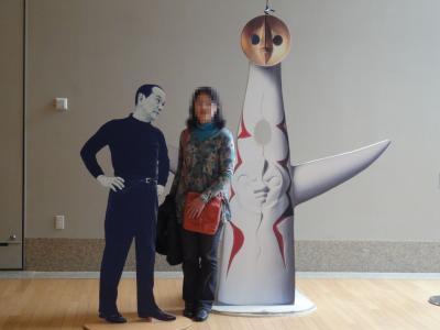 2011年春、 同窓生と行く散策? (生田緑地、岡本太郎美術館)