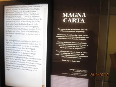 『燃える大地』<ゴンドワナの大陸を旅して>(189)議事堂内は博物館。