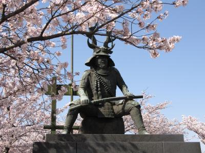 三重県内の桜名所巡り~桑名・九華公園~