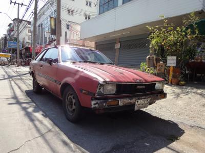 タイで頑張る日本の旧車たち