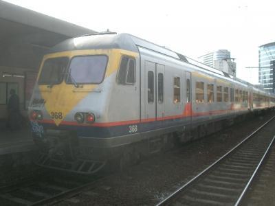 ブリュッセルからアントワープまで鉄道で日帰り旅行