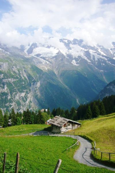 2010 スイスの旅~ ブルーメンタール 花の谷ハイキング ~3日目その13
