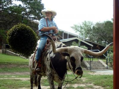 テキサスの牧場ステイ・・気分はカウボーイ