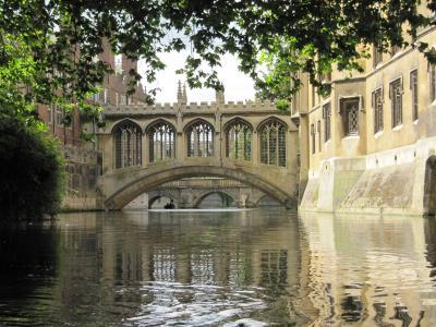 34》 夏。イギリスの旅 1日目。 ケンブリッジで パント遊覧  2009/7/10