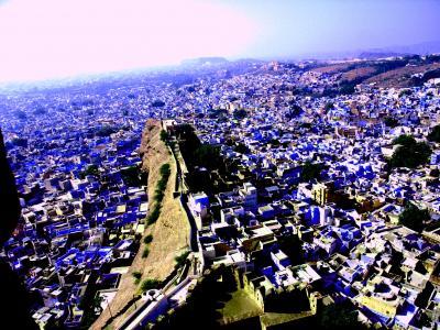 青い旧市街に誘われてインドの西へ:ジョードプル