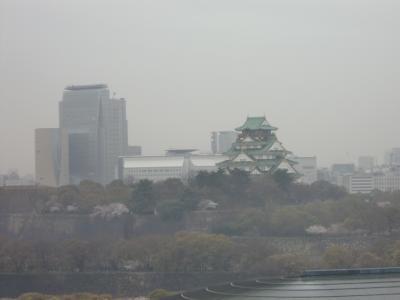 大阪城が見えるお部屋ニューオータニ大阪