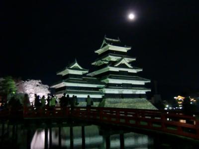 国宝松本城の夜桜会