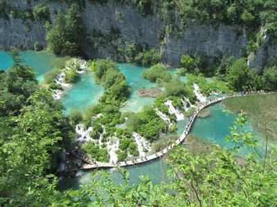 クロアチア縦断 ドライブ旅行記 8日目 プリトヴィッツェ編⑤上湖群2
