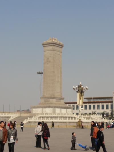早春の上海、蘇州、北京2011 再び天安門