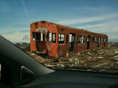 東日本大震災 被災取引先の確認。旅行記ではありません。