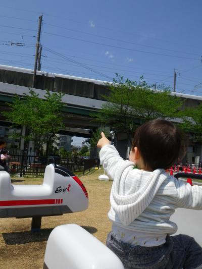 【かーくん02歳01ヶ月】 鉄道博物館で大フィーバー!