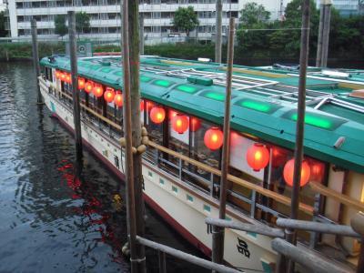 屋形船で粋な大人の夏夜遊び~東品川 船清~