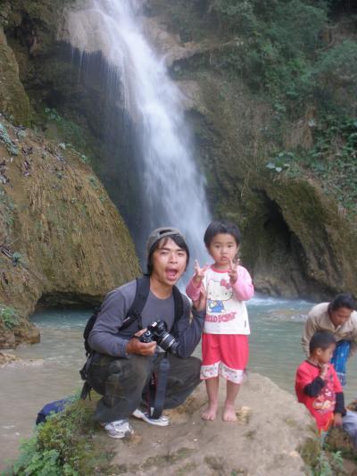 メコン川下り、娘とルアンパバーンヘ