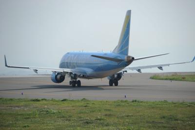 GW富士山静岡空港へこの日一番のFDA機を見送りました