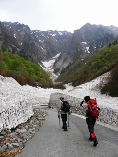 久しぶりの雪山 谷川岳を楽しむ・・・②一の倉沢出合往復トレッキング