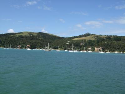 船で行くコロマンデル半島