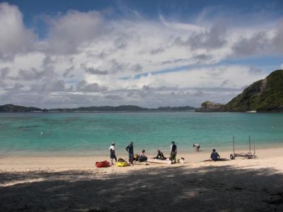 渡嘉敷島シーカヤック&キャンプ