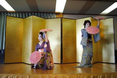 京大和にて、華麗なるひと時を舞妓さん、芸妓さんと~♪