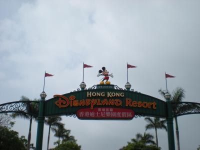 香港ディズニーランド満喫