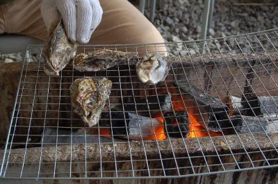 日生(ひなせ)の牡蠣バーベキュー