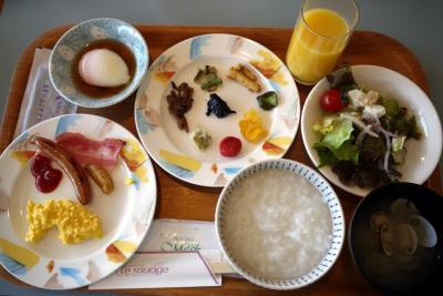 03.SOTカヤック体験講習会@東急ハーヴェストクラブ静波海岸に参加する旅 レストラン リヴァージュのバイキングの朝食
