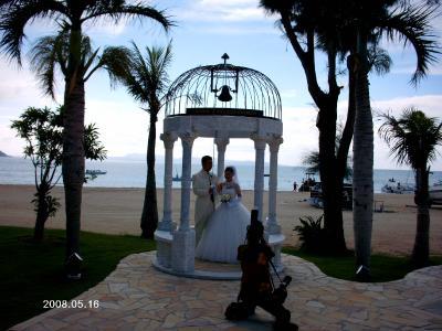 友人の結婚式IN沖縄 オクマリゾート