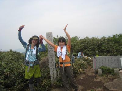 ダイナランドから、大日ケ岳をめざす!山ガールへの挑戦。